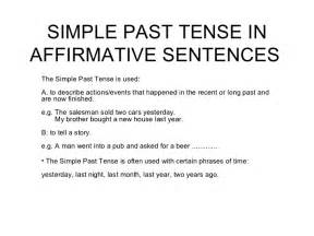wedding program size simple past tense in affirmative sentences