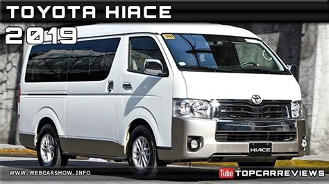 toyota hiace review rendered price specs release date