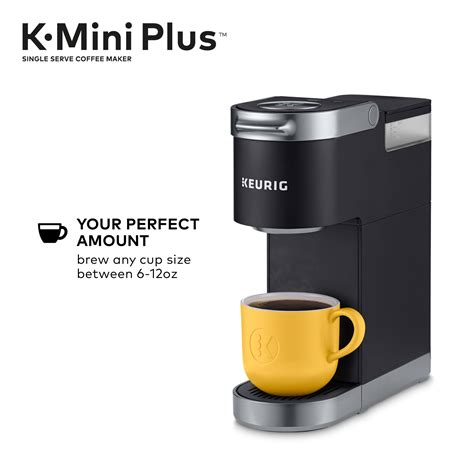 Watch this video to learn how to descale your keurig® classic coffee maker. Keurig K-Mini Plus Coffee Maker, Single Serve K-Cup Pod ...