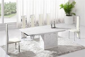Lighten Up Dinner Time With These 15 White Dining Room Tables
