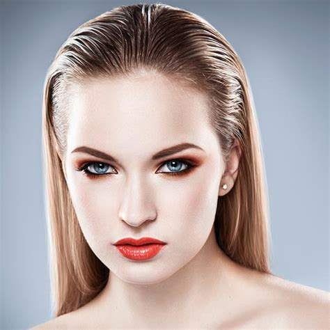 Sleek Wet Effect   Wet Look Hairstyle For Long Hair   L