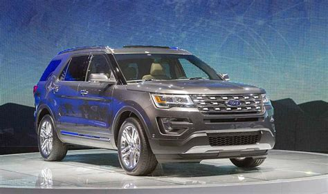ford explorer towing capacity towing
