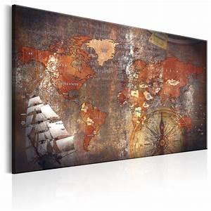 Leinwand Xxl Kaufen : leinwand bilder xxl kunstdruck wandbild weltkarte windrose schiff k a 0140 b a ebay ~ Whattoseeinmadrid.com Haus und Dekorationen