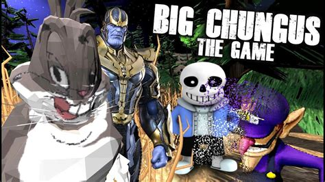 The Official Big Chungus Game!! Can He Destroy Sans & Stop