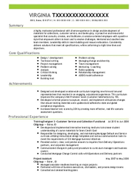 professional development resume exles education and