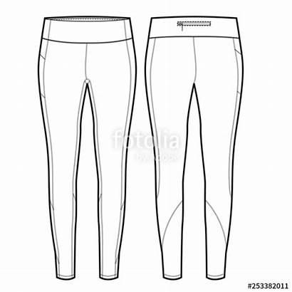 Template Leggings Legging Vectorified