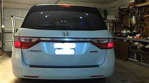 2012 Honda Odyssey Cob Led 3rd Brake Light