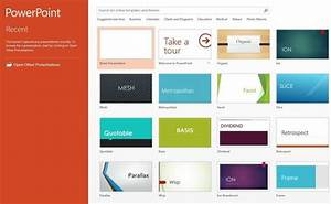 10 ways powerpoint 2013 gets more polish pcworld With design templates for powerpoint 2013