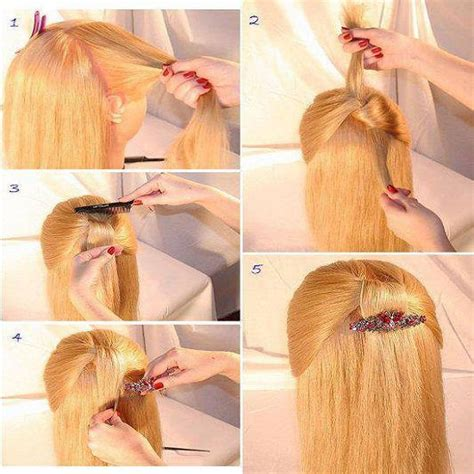 fashionable  beautiful hairstyle tutorials  woman