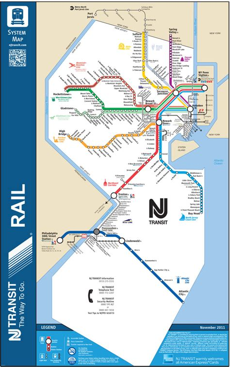 nj transit light rail schedule official map new jersey transit rail system this