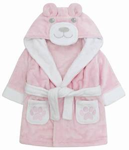 baby girls hooded fleece dressing gown supersoft bath robe With robe de chambre bebe fille 18 mois