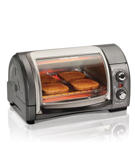Simple Toaster Oven - hamilton 31334 easy reach toaster oven metallic ebay