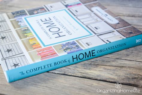 The Complete Book Of Home Organization Giveaway & Review
