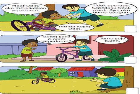 Contoh cerita bergambar anak : BAYU RUVEVI (III/D PGSD): KELAS 2 TEMA 1 SUBEMA 2