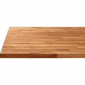 Leroy Merlin Plan De Travail : plan de travail bois acacia huil mat x cm ep ~ Dailycaller-alerts.com Idées de Décoration