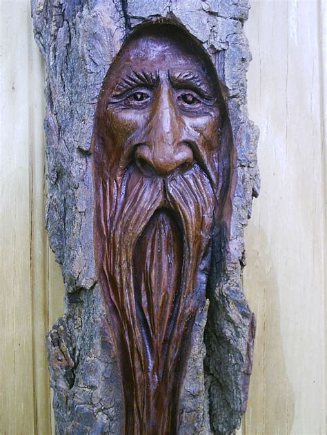 wood spirit wood carving faces wood carving art wood
