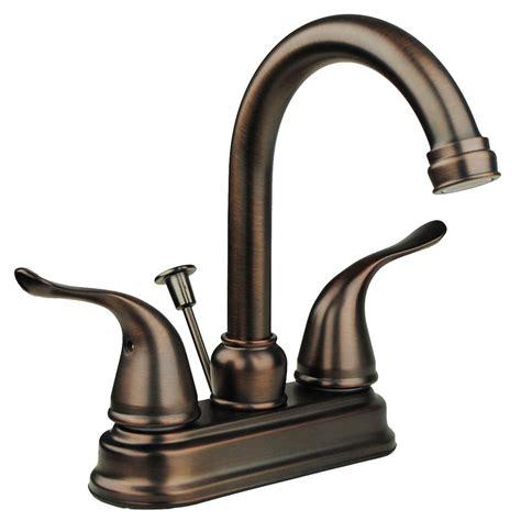 solid brass lavatory faucet two handle high arc spout