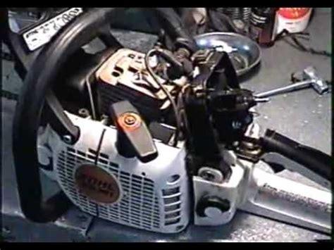 stihl ms  ignition module repair
