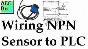 Wiring Npn Sensor To Plc