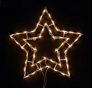 Led Stern Weihnachten : fensterbild beleuchtet 42cm mit 50 led motiv weihnachtsbaum mit saugnapf elknim ~ Frokenaadalensverden.com Haus und Dekorationen