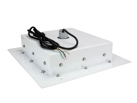 explosion proof led light fixture for recessed mounting