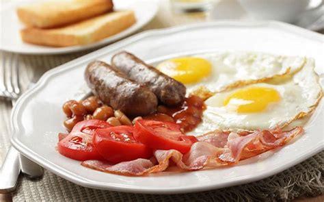 perfect full english breakfast