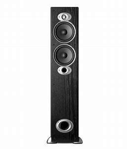 Polk Audio Rti A5 Floorstanding Speaker  Single  Black