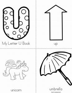 my letter u book twisty noodle With letter art book
