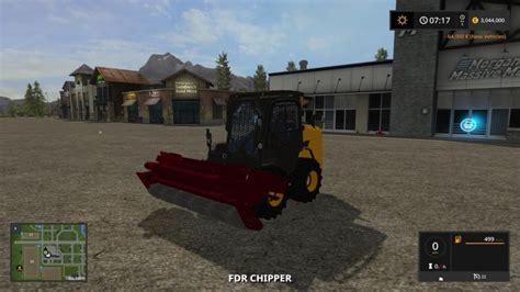 fdr chipper  farming simulator   mods ls