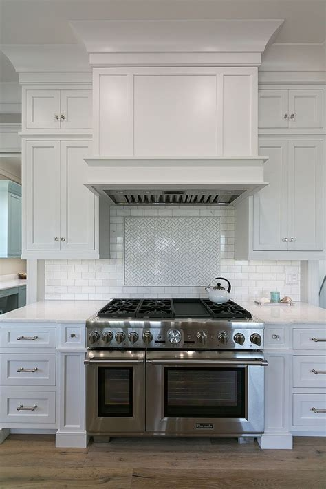 Kitchen Oven Vent by Mahshie Custom Homes Cool Kitchens White Shaker