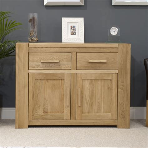 Sideboard In Living Room by Pemberton Solid Oak Living Room Furniture Medium Storage