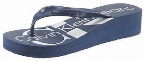 Calvin Klein Auf Rechnung : calvin klein zehentrenner mit plakativem logo auf der laufsohle online kaufen otto ~ Themetempest.com Abrechnung