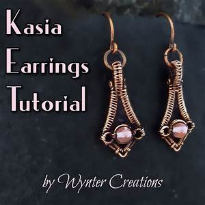 Kasia Wire Weave Earrings Tutorial
