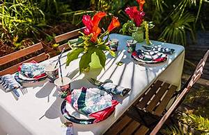Deco Table Tropical : decoration mariage theme tropical ~ Teatrodelosmanantiales.com Idées de Décoration