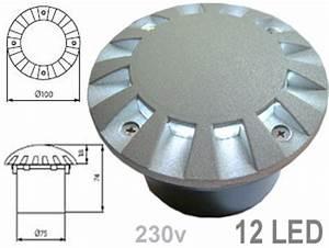 Spot Enterre Exterieur : prix du regor7280 sur la boutique electronique fcosinus ~ Edinachiropracticcenter.com Idées de Décoration