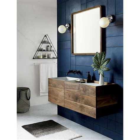 vega bath  bulb black nickel wall sconce masculine
