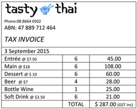 understanding gst tax invoices