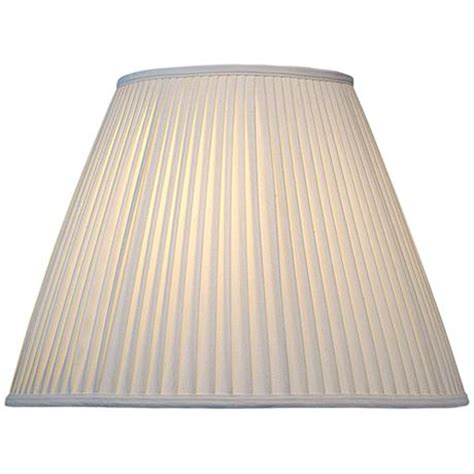 stiffel pleated l shades stiffel off white camelot empire shade 8x16x12 spider