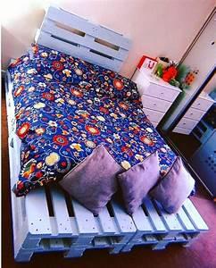 100, Diy, Recycled, Pallet, Bed, Frame, Designs