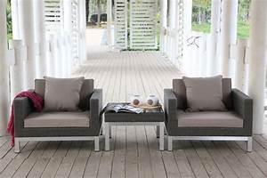 Rattan Gartenmöbel Lounge : rattan lounge gartenm bel aus aufgerautem rattan ~ Frokenaadalensverden.com Haus und Dekorationen
