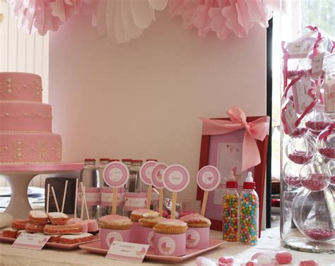 buffet sucr 233 sweet table baby shower oh a