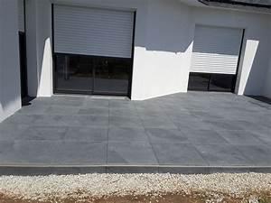 Dalle Pour Terrasse Sur Plot : terrasse dalles bois sur plots diverses ~ Premium-room.com Idées de Décoration