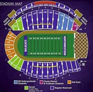 Northwestern University Football Stadium Seating Chart