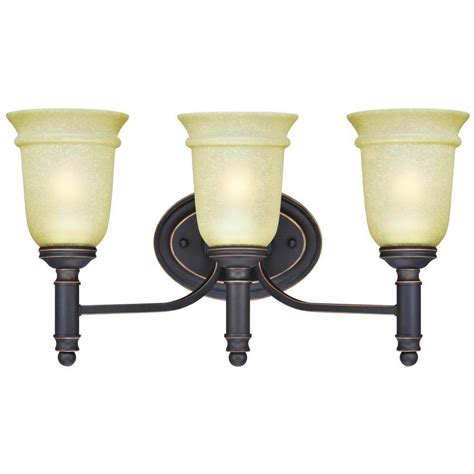 westinghouse montrose 3 light rubbed bronze with