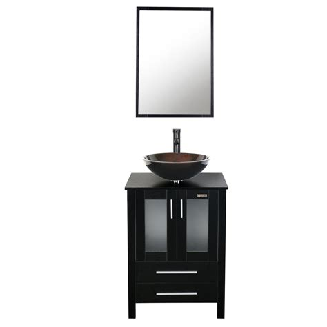 eclife   bathroom vanity combo modern mdf cabinet