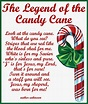 Craftymumz Creations: Candy Cane Legend Card Printable
