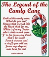 candy cane coloring page with poem | just b.CAUSE