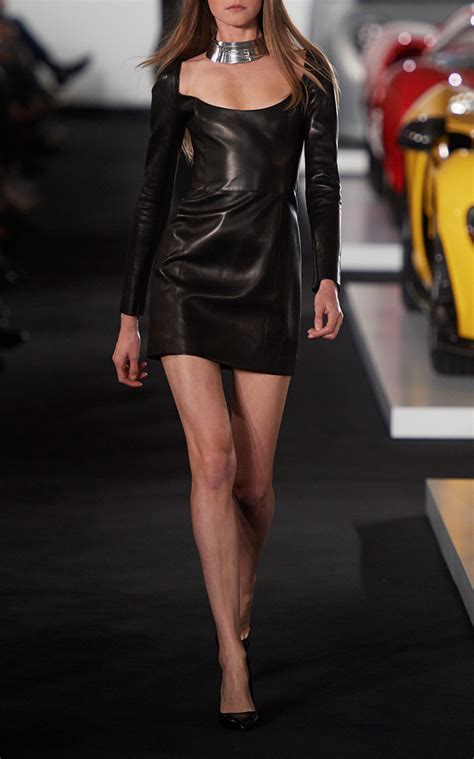 fall  fashion trends leather dresses melonkiss