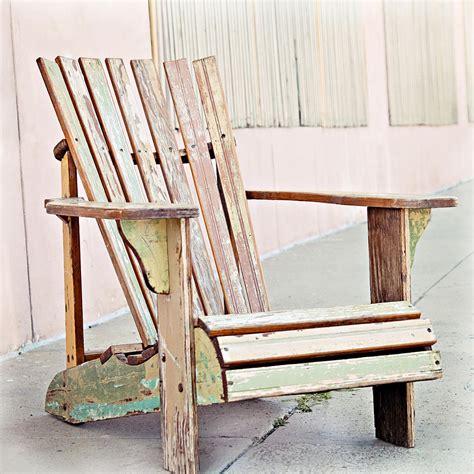 pastel adirondack chair photograph by angela bonilla