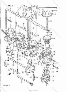 Suzuki Motorcycle 1992 Oem Parts Diagram For Carburetor